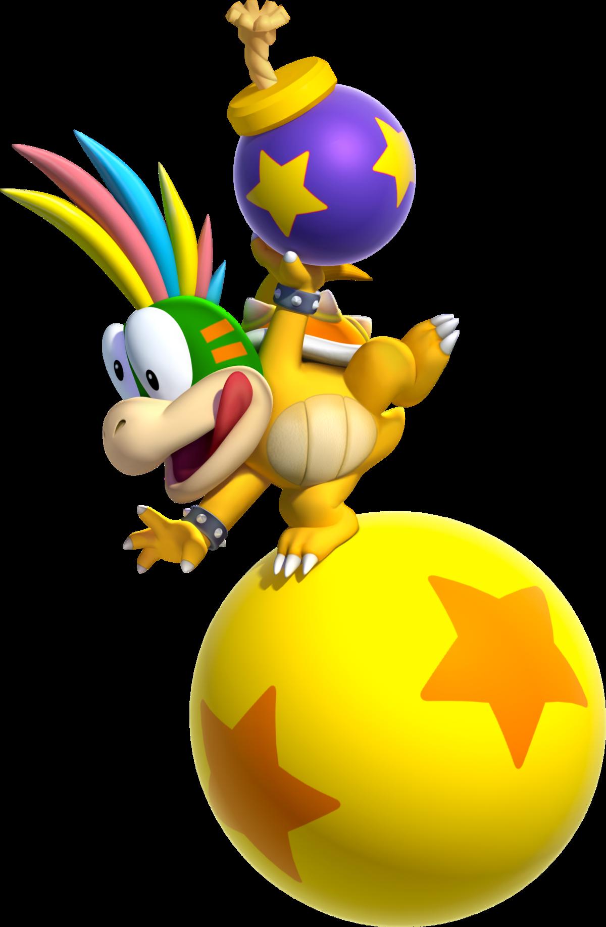 Lemmy Koopa Super Mario Wiki